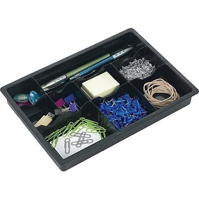 Dial Everything 9 Section Drawer Organizer, Black, Pack of 2 (21039)