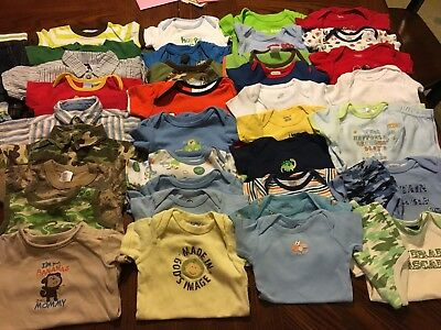 Baby Boys Summer Clothes Lot Shorts And Shirts  Outfits 3-6 Months