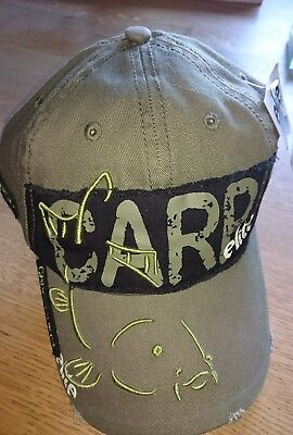 HotSpot Design Cap Carpfishing Elite Angelkappe Cappy Karpfenanglen oliv