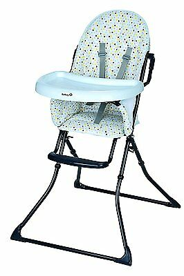 High Chair Baby Foldable Compact 5 Points Security Safety 1st Kanji Novelty