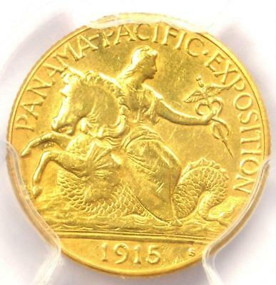 1915-S Panama Pacific Gold Quarter Eagle ($2.50 Coin) - PCGS AU Details!