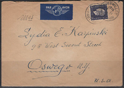 Rare Lettre – Gueswiller A New York (Usa) – N°701 – 04/11/1945