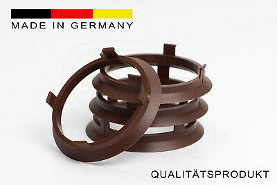 4x Zentrierring 70,4 x 66,6 mm Rondell Aluett SPEEDS Audi Mercedes BMW Hubring