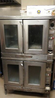 Blodgett 2 stack electric convection oven