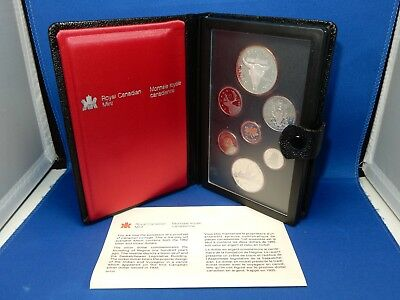 1982 Royal Canadian Mint Proof-Like Coin Set