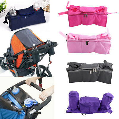 Universal Organizer Pram Baby Bag Drink Storage Useful Buggy Pushchair Cup 1p