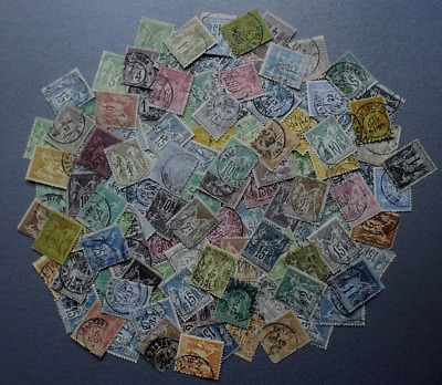 Lot collection vrac Timbres France anciens sage