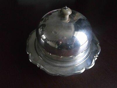 Silver Plated Serving Dish And Lid With Handle Stunning