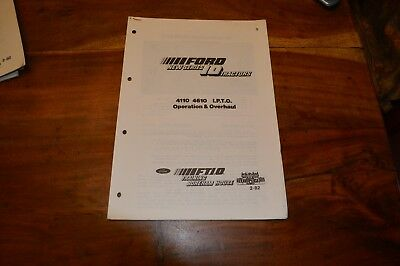 Ford 4110 & 4610 IPTO Service Manual  (5)