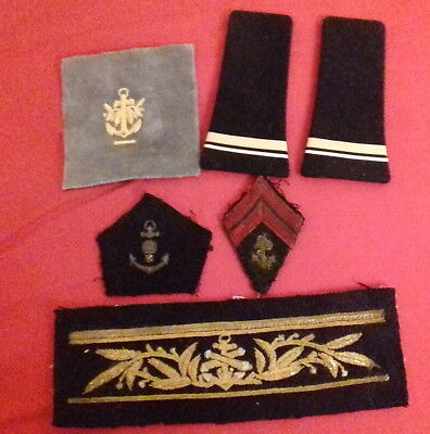 Lot Cannetille Uniforme Marine