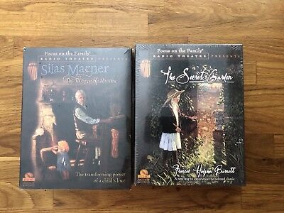 2 NEW Focus on the Family Radio Theatre CD Sets The Secret Garden & Silas Marner