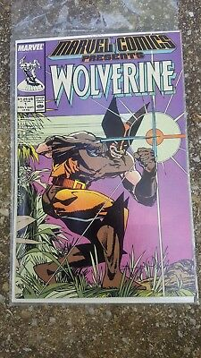 Marvel Comics Presents #1 Wolverine (Sep 1988, Marvel) High Grade Copy VF +