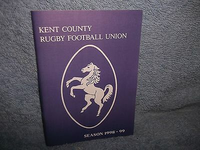 Kent County Rugby Union Handbook 1998-99