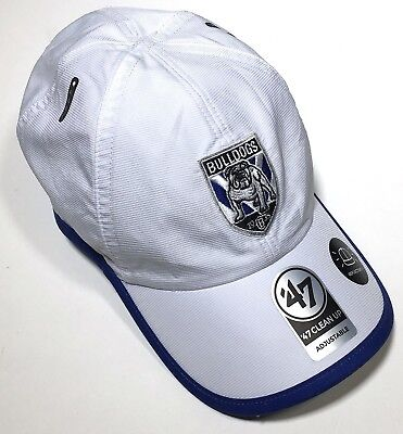 NRL Canterbury Bulldogs Supporters Hat 47 Brand Clean Up Baseball Cap Adjustable