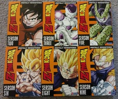 Dragon Ball Z: Lot of Seasons 2,3,5,6,8,9