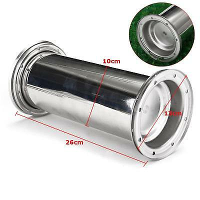 10.2 INCH Stainless Steel Time Capsule Waterproof Lock Container Storage Future