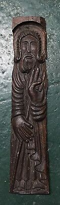 Original Antique Icon  wood St.Nikola 17-18 century maybe 15 century