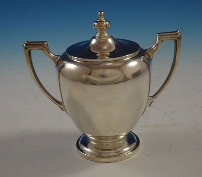 Pointed Antique by Reed Barton Dominick Haff Sterling Silver Sugar Bowl (#2415)