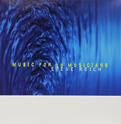 Steve Reich - Music for 18 Musicians - Double LP Vinyl - New