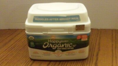 Happy Baby Organic Stage 1 Infant Formula w/ Iron 21 oz NEW SS Birth to 12 Month