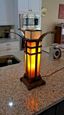 Arts and Craft, Mission, Collectible, Table Lamp Base