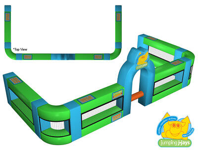 MASSIVE JUMPING CASTLE SALE - Inflatable Fence Inflata-fence ** USED