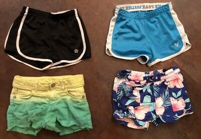 Girl's Lot Of Summer Shorts - Carters, Limited Too, Justice, Sonoma Size 6