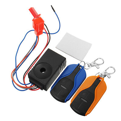 48V-60V Scooter Remote Control Anti Theft Alarm Security System