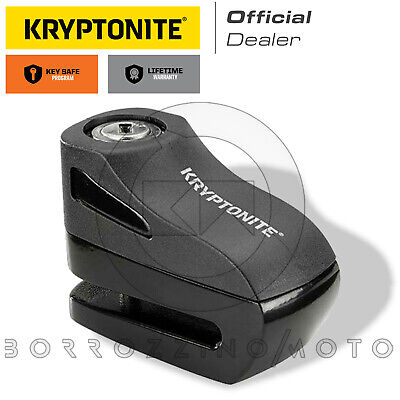 BLOCCADISCO ANTIFURTO KRYPTONITE NERO PERNO 5mm UNIVERSALE SCOOTER