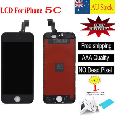 For iPhone 5C LCD Touch Screen Display Digitizer Assembly Replacement Black