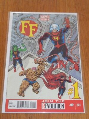 Ff #1 Marvel Now Comics January 2013 Nm (9.4)