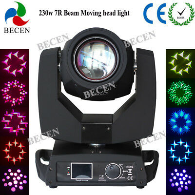 Touch Screen 230W Sharpy Beam Moving Head Light 8 Prism 16CH for DJ Show 1pcs