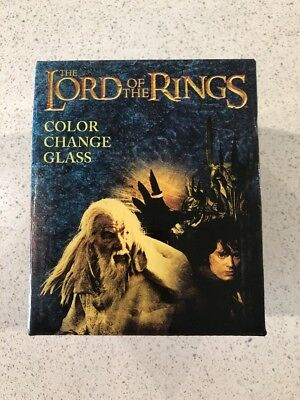 Licensed Lord Of The Rings Color Change Glass - Loot Crate Exclusive - New, Mint