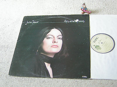 JUNE TABOR Airs And Graces orig 1976 UK LP TOPIC 12TS298