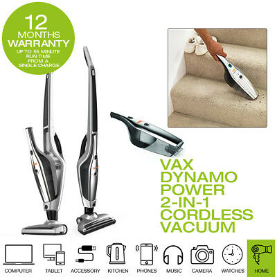 New Vax H85DPB25 Dynamo Power 2-in-1 Cordless Vacuum Cleaner