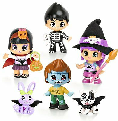 Pinypon Pinymosters 4 Figures 2 Pets Toy Boy Child Famosa Shine
