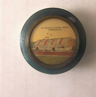Vintage Hershey Tin Sewing Kit - Picture of Hershey Sports Arena, Hershey, PA