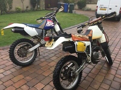 Honda xr250  two off