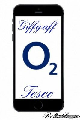 Fast Unlock - Iphone 7 7+ 6S 6S+ 6 6+ Se O2 & Tesco Giffgaff Clean Imei Only