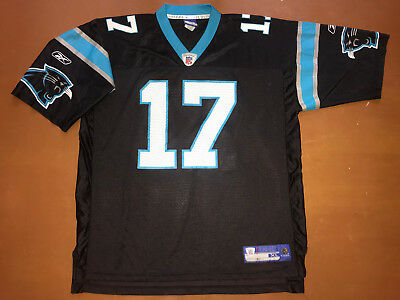 NFL American Football Trikot Shirt Jersey Reebok Carolina Panthers #17 DELHOMME