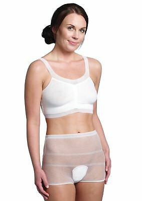 Carriwell Washable Hospital Pants Maternity Knickers Caesaran 5 Pack Size 10-16