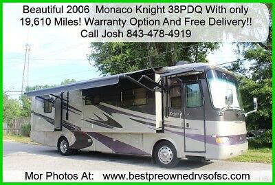 2006 Monaco Knight 40QSH diesel pusher Free Delivery!! Used