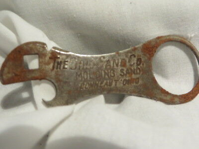 Vintage Ohio Sand Company can opener / multi-functional tool