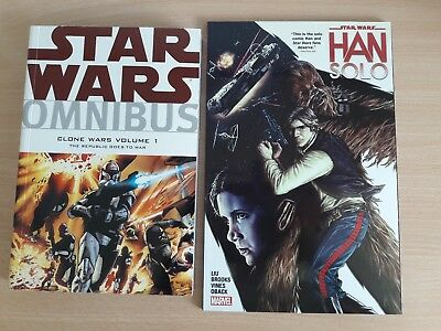 Star Wars Omnibus: Clone Wars Volume 1 and Star Wars: Han Solo tpb