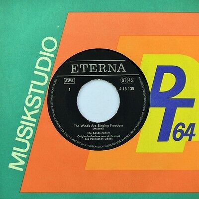 "7"" THE SANDS FAMILY Winds ISABEL PARRA & PATRICIO CASTILLO Por Todo Chile ETERNA"