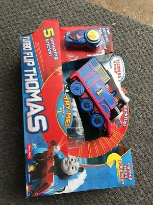 Thomas And Friends Turbo Flip Remote Control Toy Vehicle Fisher