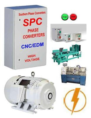 50 Hp CNC Rotary Phase Converter-- Mills, Lathes, Plasma Cutters & Woodworking
