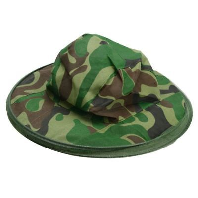New Mosquito Hat with Head Net Mesh Fishing Beekeeping Hat Camouflage Cap
