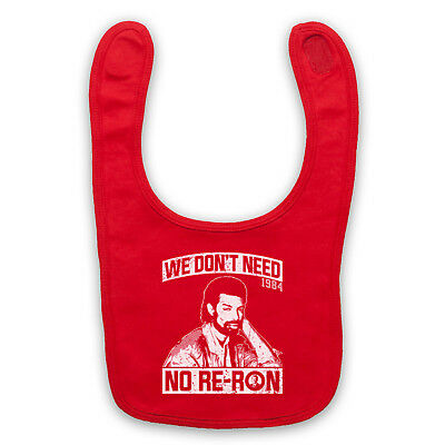 Re-Ron Unofficial Gil Scott Heron Soul Jazz Don't Need Baby Bib Cute Baby Gift
