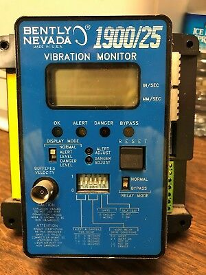 Bently Nevada 1900/25 Vibration Monitor Trendmaster 2000